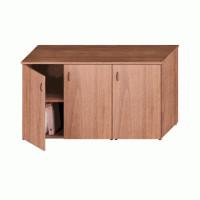Исп.06 Шкаф комбинированный низкий (закрытый + закрытый узкий)