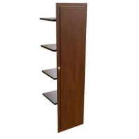 29554 Наполнение одностворчатого шкафа с деревянной дверцей и вешалкой