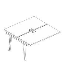 АЛ 9175-1 Секция стола рабочей станции (2х160)